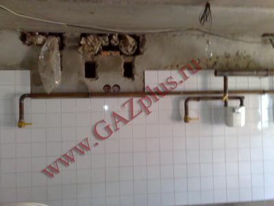 Перенос газовой трубы на участке (в доме)
